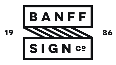 Banff Sign Company | Banff & Canmore Sign Shop